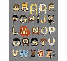 GoT Alphabet Photographic Print