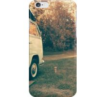 Vintage Van on Farm iPhone Case/Skin