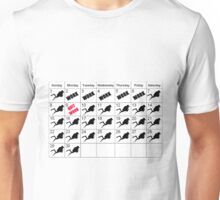 DIVING CALENDER QUIT WORK DIVE FOREVER  Unisex T-Shirt