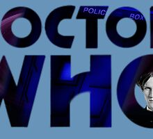 Pollice Call Box Matt Smith by drwhobubble