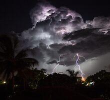 Gladstone Thunderstorm by Mark Fitzpatrick
