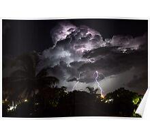 Gladstone Thunderstorm Poster