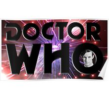 Red Space Matt Smith Poster