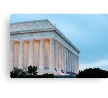 Lincoln Memorial II Canvas Print