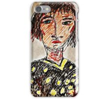 Wickedly weird woman iPhone Case/Skin