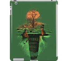 Concrete maze iPad Case/Skin