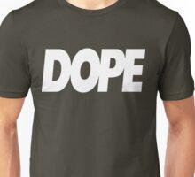 Dope Logo White Ink   Hope4Pope.org Unisex T-Shirt