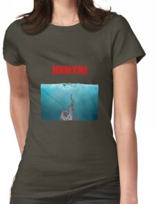 Hentai tentacles Womens Fitted T-Shirt