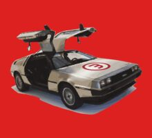 number 3 delorean One Piece - Long Sleeve