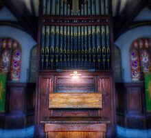 Dream Mirror Organ by Ian Mitchell
