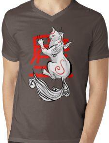 Kabegami Mens V-Neck T-Shirt