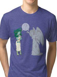 Medusa VS Angel Tri-blend T-Shirt