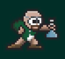8-Bit Mr. White by justinglen75