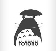 Totoro Phone Case [White] by OneRiceForLife