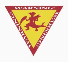 Mega Garchomp Warning Kids Tee
