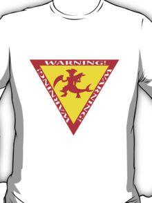 Mega Garchomp Warning T-Shirt