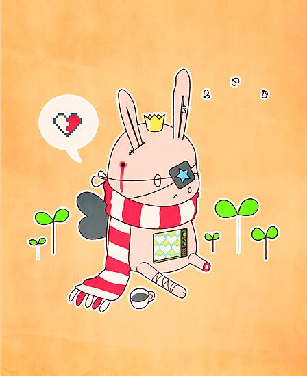 Bunny boy by BumbleBeesh