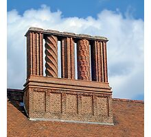 Chimneys for Santa Claus Photographic Print