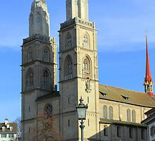Grossmünster by Kajia