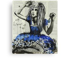 Drink Me Canvas Print