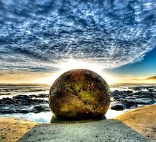 Moeraki Boulder by ChrisMcKay