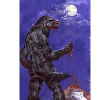 Metis - blood and moon Photographic Print