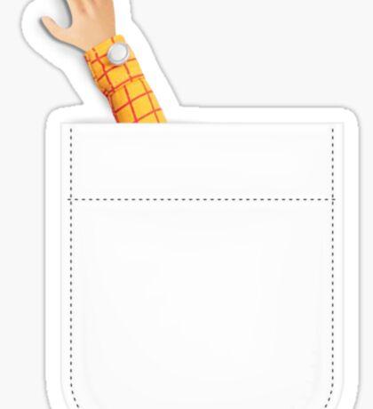Toy Story Woody's Arm in Al's Pocket Sticker