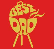 Best Dad Father's Day Shirt by glucern