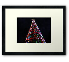 Burt Street Community Tree Framed Print