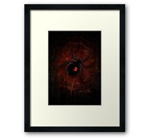 Black Widow (Signature Design) Framed Print