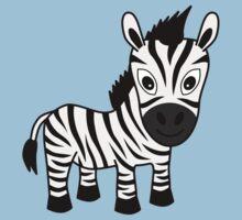 My Day at the Zoo - Zebra Kids Tee