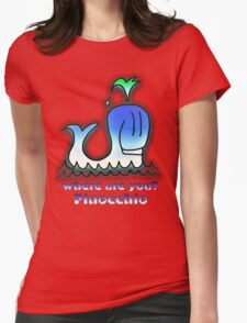 Where are you? Pinocchio Womens Fitted T-Shirt