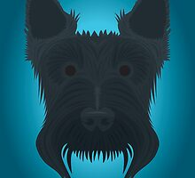 Scottish Terrier by threeblackdots