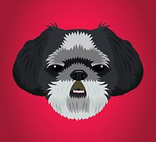 Shih Tzu by threeblackdots