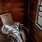 This Old House: Wheelchair with a view by Bernd F. Laeschke