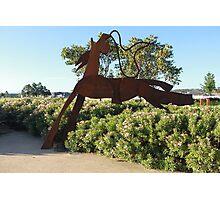 The Headless Horseman - Number 2 Photographic Print