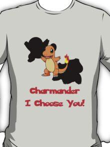 Charmander I Choose You! T-Shirt