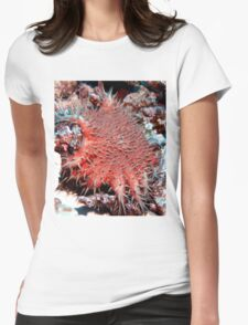 Crown of Thorns Starfish Womens Fitted T-Shirt