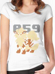 Pokemon - 059 Women's Fitted Scoop T-Shirt