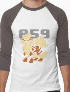 Pokemon - 059 Men's Baseball ¾ T-Shirt