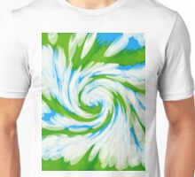 Groovy Green Blue Swirl T-Shirt
