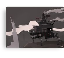 Surveillance Mech Canvas Print