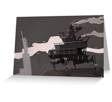 Surveillance Mech Greeting Card