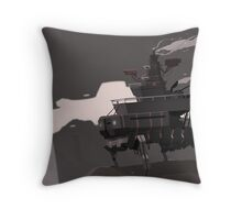 Surveillance Mech Throw Pillow