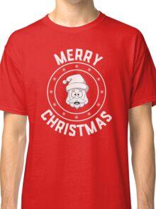 Santa's Merry Christmas Logo Classic T-Shirt