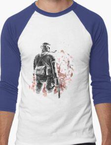 Big Boss /Sketched Men's Baseball ¾ T-Shirt