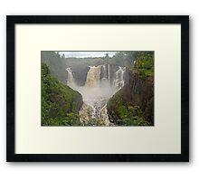High Falls 2 Framed Print