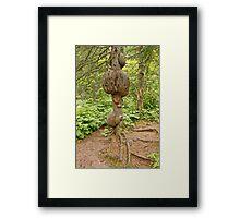 Deformed Tree Framed Print