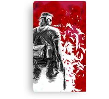Big Boss /Sketched Canvas Print