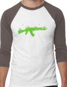 AKnature Men's Baseball ¾ T-Shirt